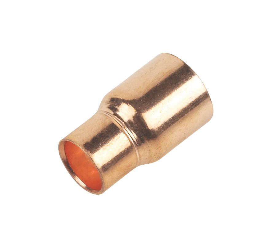 Image of Flomasta End Feed Fitting Reducers 15 x 10mm 2 Pack
