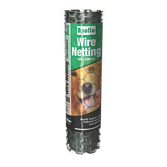 Image of Apollo 25mm Galvanised Wire Netting 0.9 x 50m