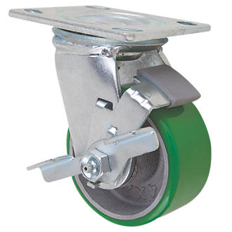 Image of Select Braked Swivel Castor 100mm