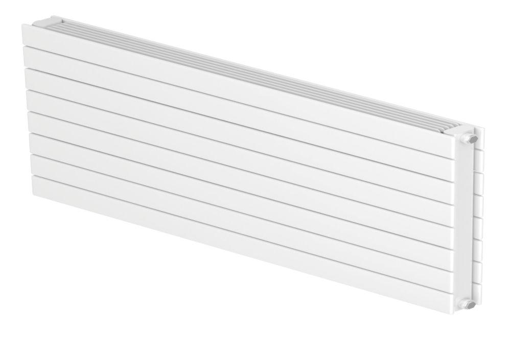 Image of Barlo Decorative Horizontal Double-Panel Designer Radiator White 578 x 600mm