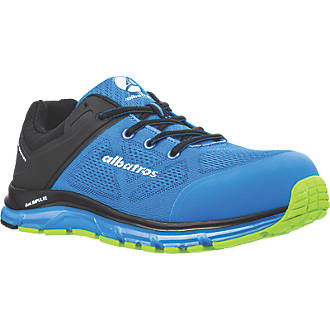 Image of Albatros Lift Impulse Low Safety Trainers Blue / Black Size 10