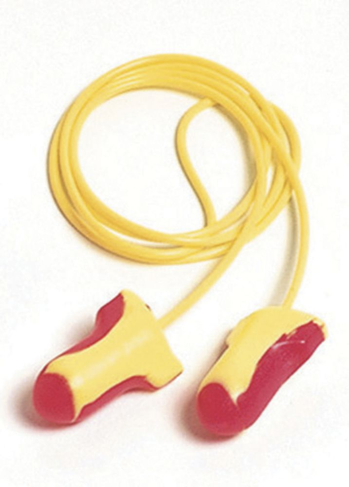 Image of Howard Leight Laser Lite 35dB Corded Foam Ear Plugs 100 Pairs