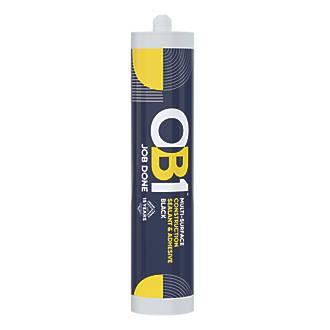 Image of OB1 Multi-Purpose Sealant & Adhesive Black 290ml