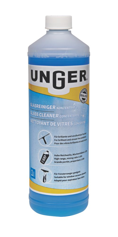 Image of Unger Window Cleaning Liquid 1Ltr