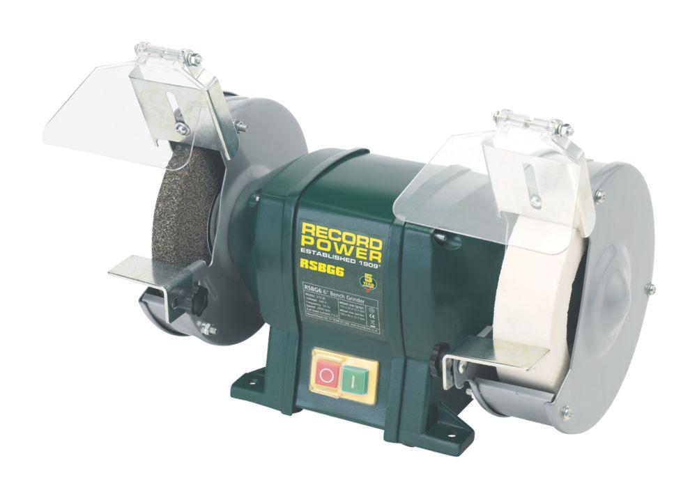 Image of Record Power RSBG6 152mm Bench Grinder 230V