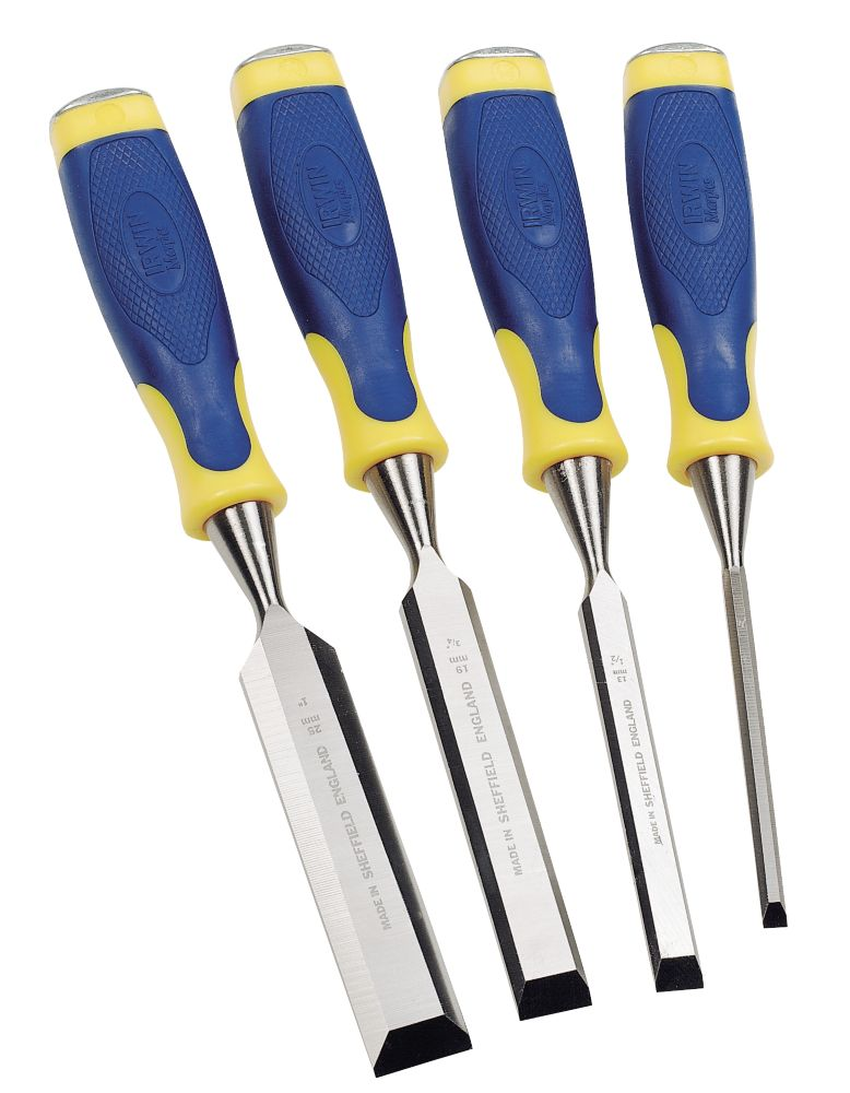 Image of Irwin Marples Chisels 4pc Set