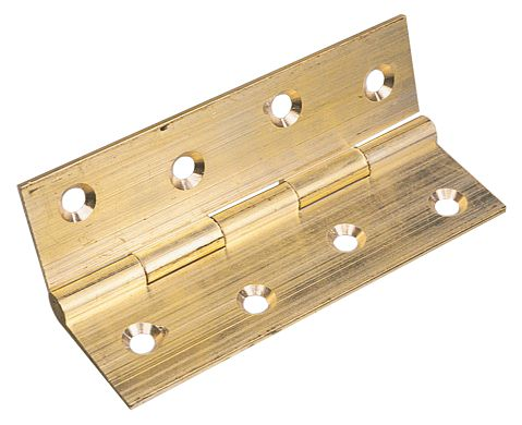 Image of Butt Hinge Self-Colour 25 x 19mm 2 Pack