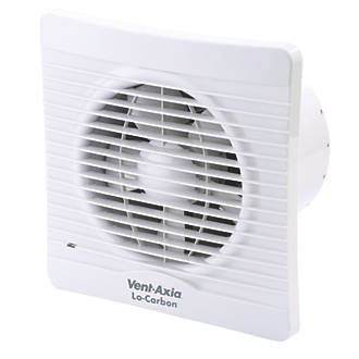 Image of Vent-Axia 150T 20W Kitchen Extractor Fan with Timer White 240V