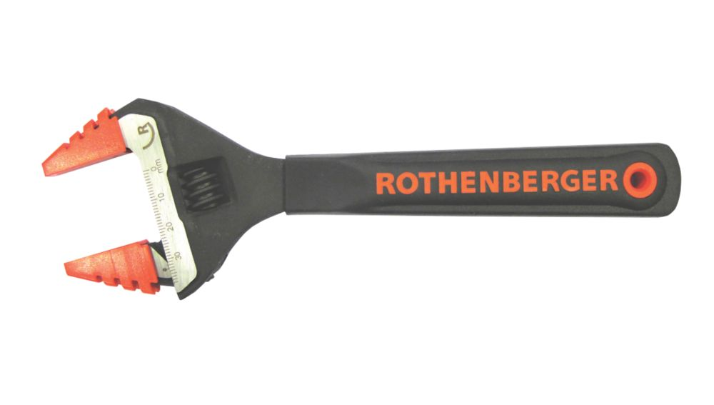 """Image of Rothenberger Adjustable Wide-Jaw Wrench 8"""""""