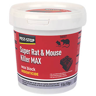 Image of Pest-Stop Rodenticide Wax Blocks