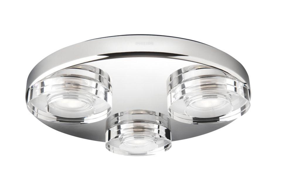 Bathroom Lights Screwfix philips mira led bathroom ceiling light chrome 880lm 56w | led