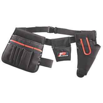 Image of P Technics Tool Belt with Drill Holster and Pouches 35-47""
