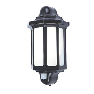 LAP 1818 PIR LED Outdoor Half Lantern   PIR Black 500lm 15W   LED Wall  Lights   Screwfix comLAP 1818 PIR LED Outdoor Half Lantern   PIR Black 500lm 15W   LED  . Outdoor Pir Led Security Lights. Home Design Ideas
