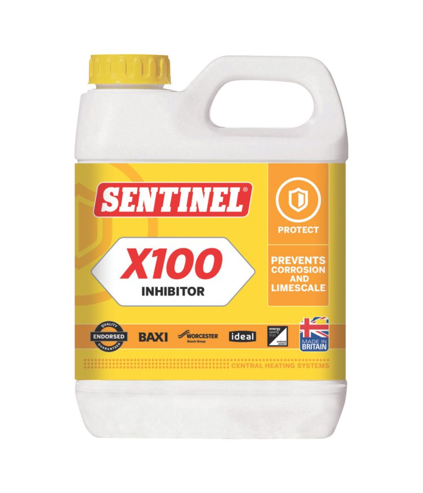 Image of Sentinel X100 Central Heating Scale Inhibitor 1Ltr