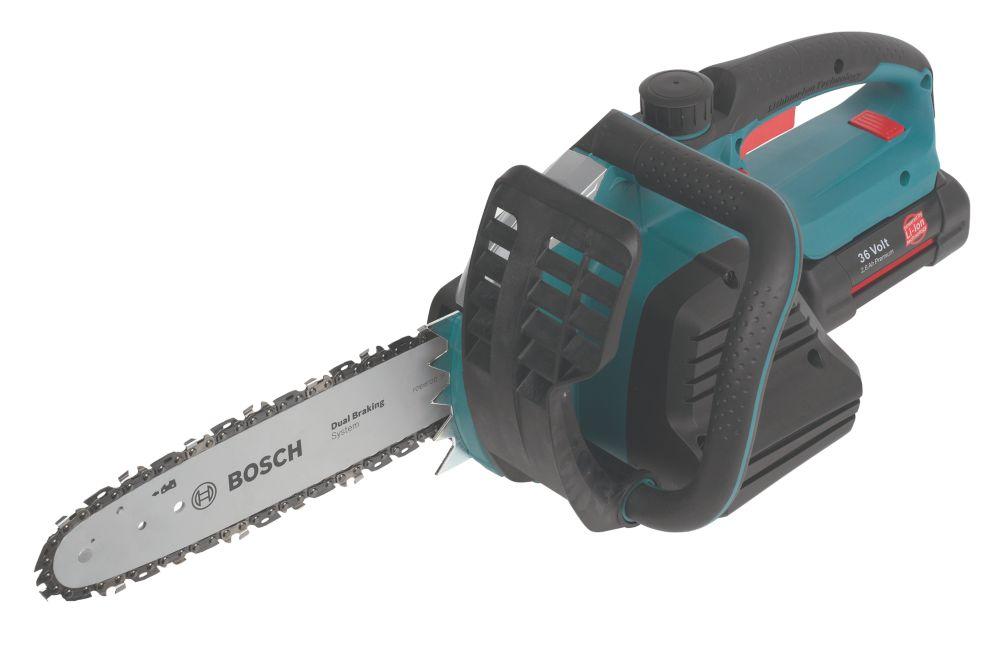 Image of Bosch AKE 30 LI 2.6Ah Li-Ion 36V 30cm Cordless Chainsaw