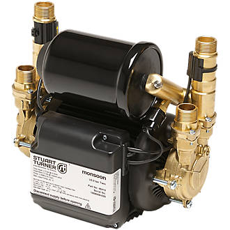Image of Stuart Turner Monsoon Universal Regenerative Twin Shower Pump 3.0bar