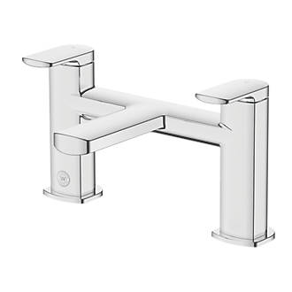 Image of Watersmith Heritage Clyde Bath Mixer Tap
