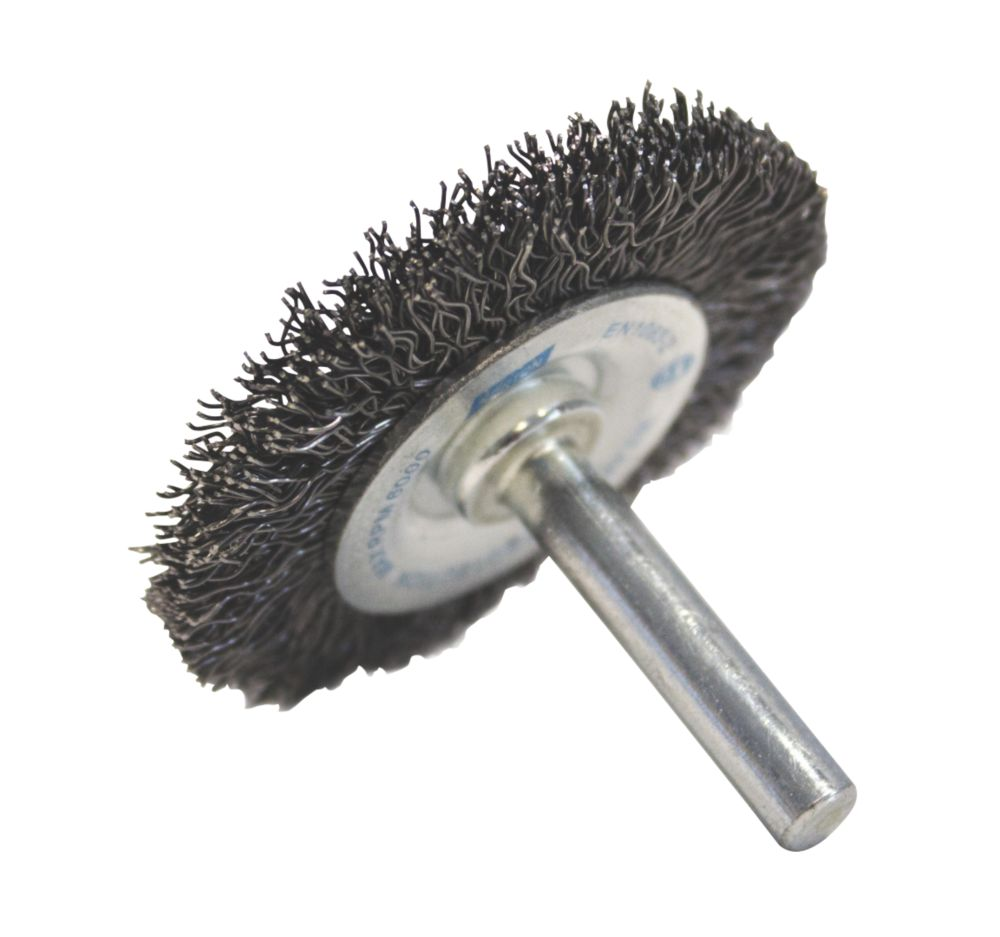 Image of Norton Expert Crimped Wire Wheel Brush 50mm