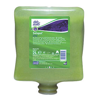 Image of Deb Stoko Solopol Lime Heavy Duty Hand Cleaner Cartridge 2Ltr