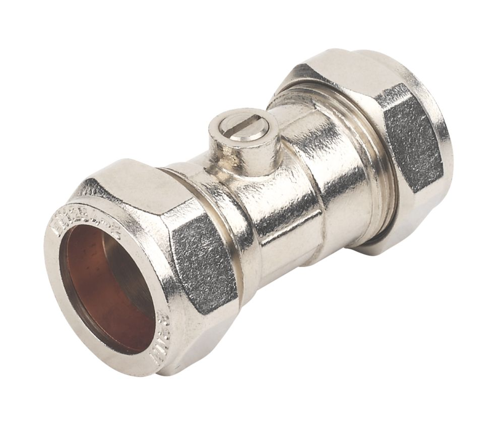 Image of Isolating Valve 22mm 2 Pack