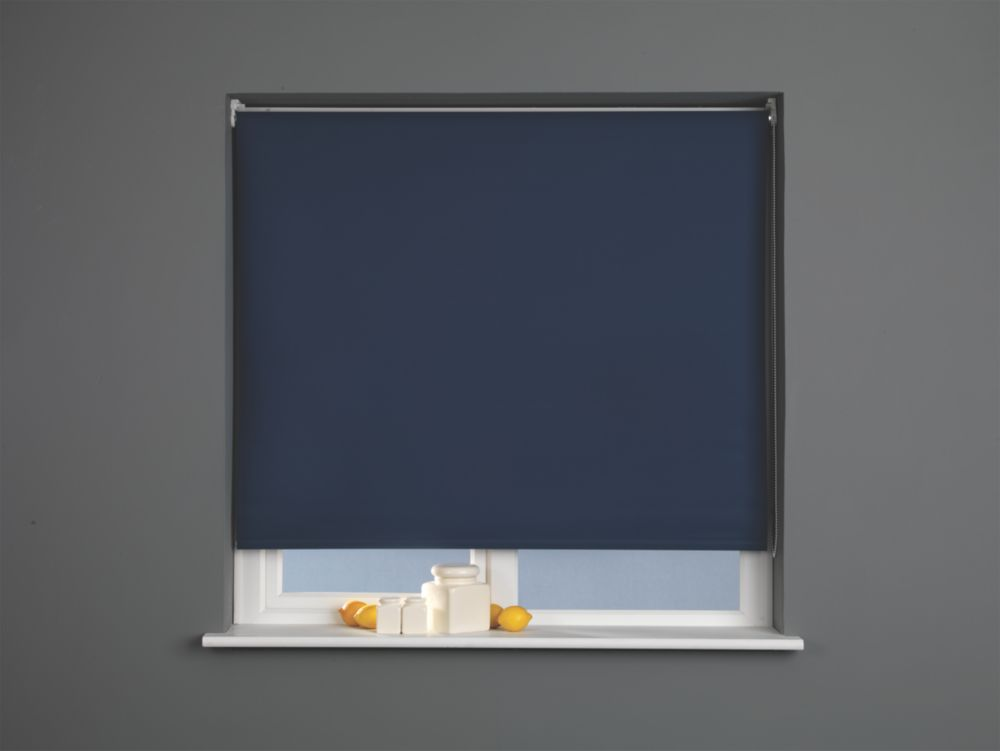 Image of Blackout Blind Navy 1800 x 1700mm
