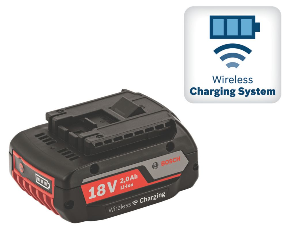 Image of Bosch GBA WLC 18V 2.0Ah Li-Ion Wireless Charging Battery