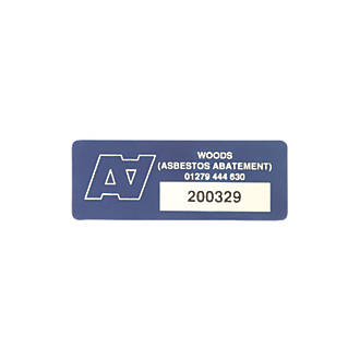 Image of Asset Protect Asset Tags Blue 19 x 38mm 100 Pack