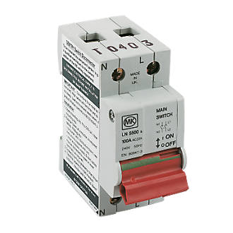 Image of MK Sentry 100A DP Main Switch Isolator