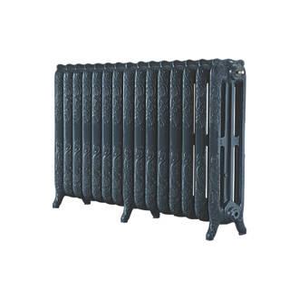 Image of Arroll 3-Column Cast Iron Radiator 760 x 1234mm Anthracite