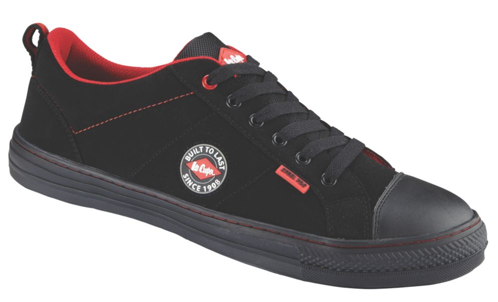 Image of Lee Cooper 054 Safety Trainers Black Size 7