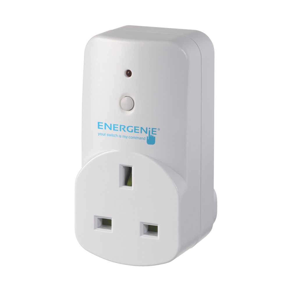 Image of Energenie MiHome 13A Adaptor Sockets Pack of 3