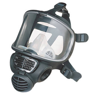 Image of Scott Safety Promask Full Face Mask No Filter-Mask Only