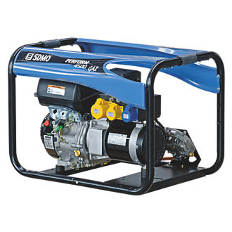 Image of SDMO Perform 4500 GAZ 3900W Generator 110 / 230V