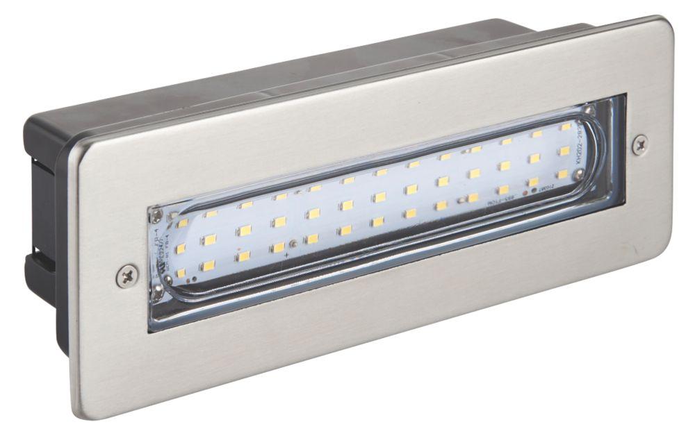 Image of Dakota LED Brick Light Stainless Steel 2.7W