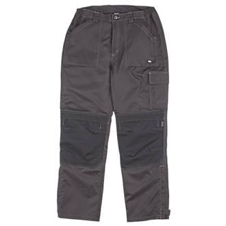 "Image of Hyena K2 Trousers Waterproof & Breathable Black Medium 38"" W 32"" L"