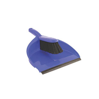 Image of Bentley Dustpan & Brush Soft Blue 5 Pack