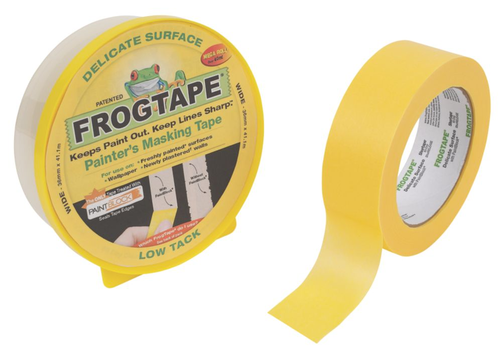 Image of Frogtape Painters Delicate Surface Masking Tape 36mm x 41m