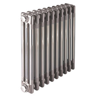 Image of Acova 3-Column Horizontal Designer Radiator 600 x 1042mm Raw Metal