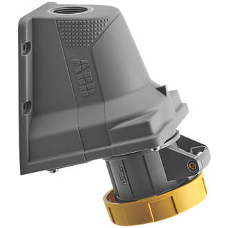 Image of ABB 16A Surface Socket Outlet 2P+E 110V Yellow