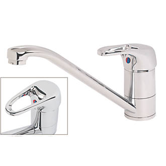 Image of Swirl Loop Single-Lever Mono Mixer Kitchen Tap Chrome