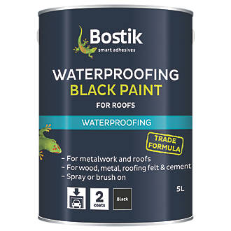 Image of Cementone Waterproofing Bituminous Paint Black 5Ltr