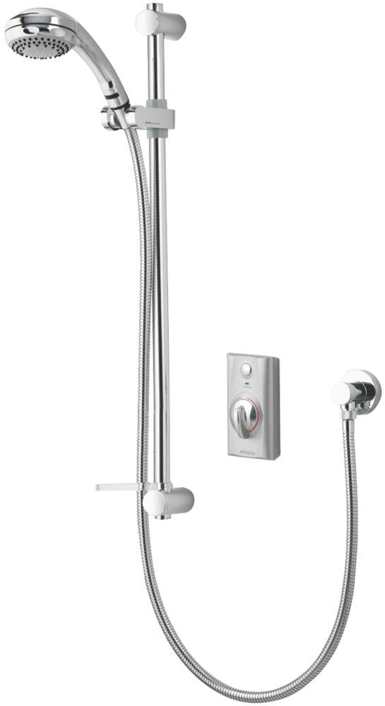 Image of Aqualisa Visage HP/Combi Flexible Thermostatic Digital Shower Satin Chrome