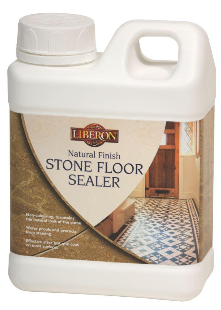 Image of Liberon Sealer for Stone Floors Natural 1Ltr