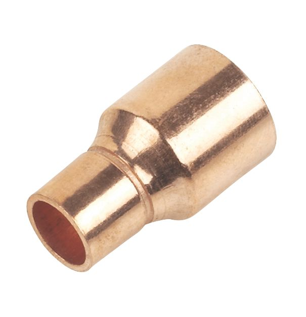 Image of Flomasta End Feed Fitting Reducers 15 x 8mm 2 Pack