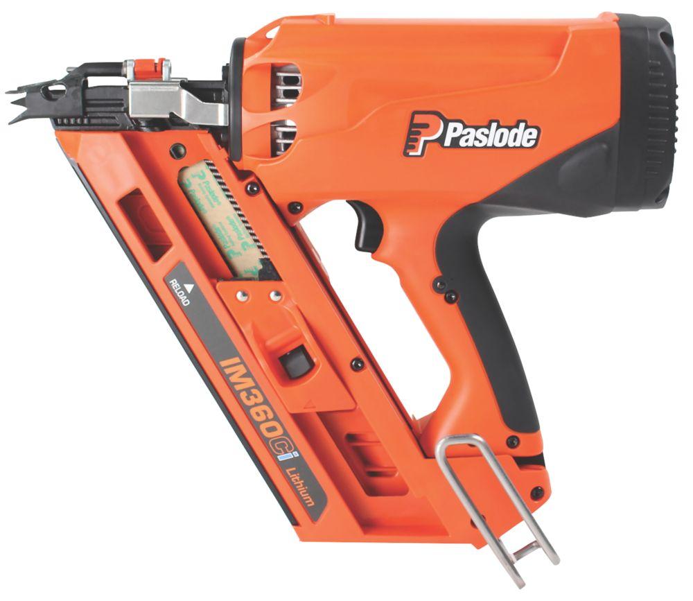 Image of Paslode IM360Ci 90mm 7.4V 2.1Ah Li-Ion First Fix Cordless Gas Framing Nailer