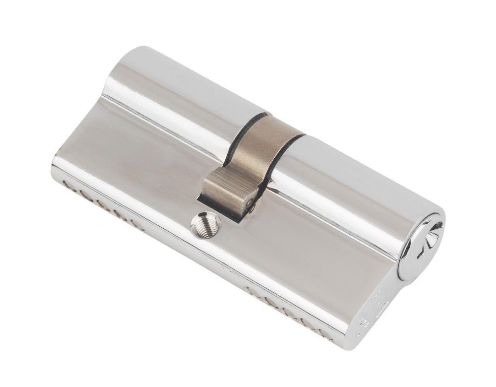 Image of Eurospec Keyed Alike Double Euro Cylinder Lock 40-40