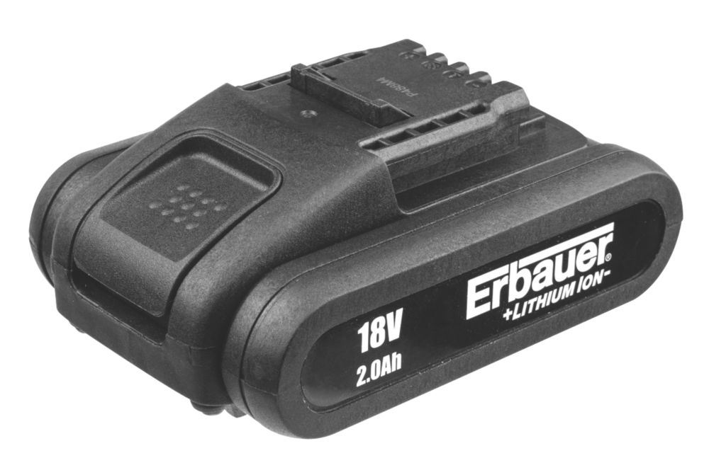 Image of Erbauer ERI621BAT 18V 2.0Ah Li-Ion Battery