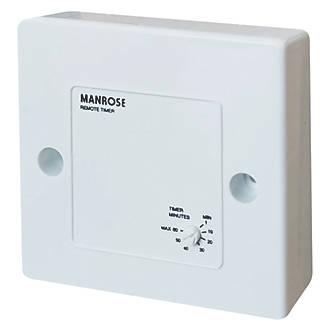 Image of Manrose 1351 Remote Bathroom Fan Timer Control