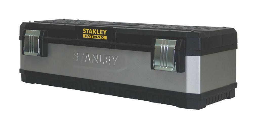 """Image of Stanley FatMax 26"""" Metal / Plastic Tool Box"""