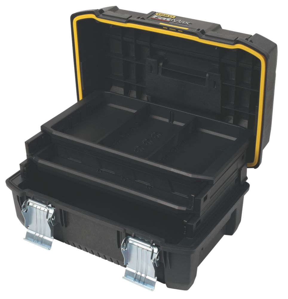 """Image of Stanley FatMax 18"""" Cantilever Tool Box"""